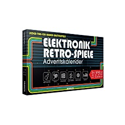 Elektronik Retro-Spiele Adventskalender 2019