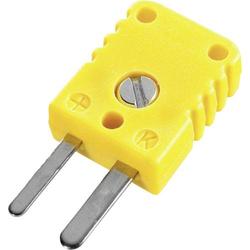 B & B Thermo-Technik THERMO-/FLACHSTECKER THERMO - FLACHSTECKER 0.5mm² Gelb Inhalt