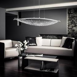 Swarovski Amaca LED Pendellampe 132cm mit klaren Kristallen