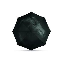 HTI-Line Stockregenschirm Regenschirm Long AC schwarz