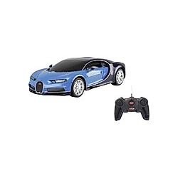 Jamara Bugatti Chiron 1:24 blau 40MHz