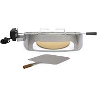 BBQ-Toro Rotisserie passend für Weber Q100/Q1000 Pizzaring Drehspieß