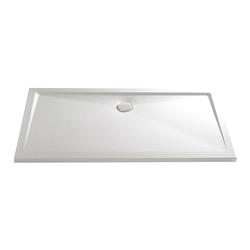 HSK Duschbecken Rechteck, super-flach 800 x 1000 mm… manhattan-grau