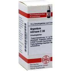 ARGENTUM NITRICUM C 30 Globuli 10 g