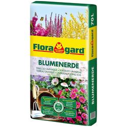 Floragard Blumenerde, 1x70 Liter braun Zubehör Pflanzen Garten Balkon Blumenerde