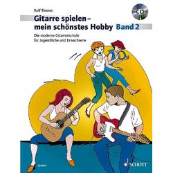 Die moderne Gitarrenschule für Jugendliche und Erwachsene 02. Gitarre. als Buch von Rolf Tönnes