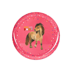 Spiegelburg Teller Melamin-Teller Mein kleiner Ponyhof