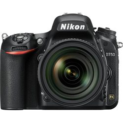 Nikon D750 Spiegelreflexkamera (AF-S Nikkor, 24,3 MP, WLAN (Wi-Fi)