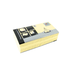 Fasana Papierserviette Serviette 40 x 40 cm 3 Lagig 1/4 Falzung creme