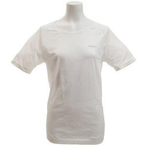 Odlo Damen Unterhemd Shirt Short Sleeve Crew Neck Evolution X-Light, White, XL, 182041-10000