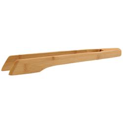 Kesper Bambus Grillzange, selbstfedernd, Grillwerkzeug für wunderbaren Halt des Grillguts, Maße (H x B x T): 3,5 x 31,5 x 5 mm