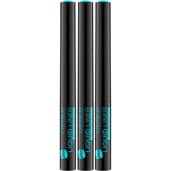 Catrice Eyeliner Liquid Liner Waterproof, 3er-Pack