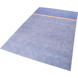 Teppich Calippo Kelim, Esprit, rechteckig, Höhe 6 mm, Wohnzimmer blau 80 cm x 150 cm x 6 mm