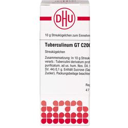 TUBERCULINUM GT C 200 Globuli 10 g