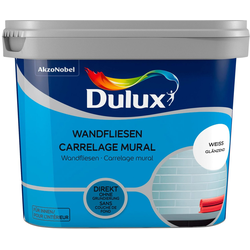 Dulux Fliesenlack Fresh Up, weiß, 0,75 l