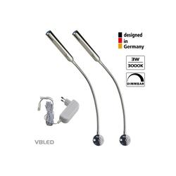 VBLED LED Leselampe, LED Schwanenhalslampe