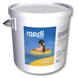mediPOOL pH-Minus Granulat, Granulat zur Senkung des pH-Wertes, 5 kg - Eimer