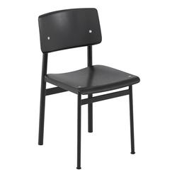 Loft Stuhl Schwarz/Schwarz   Muuto