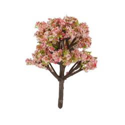 HobbyFun Dekofigur Strauch blühend, 6 cm hoch rosa