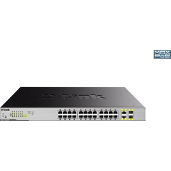 D-Link 26-Port Layer2 PoE+ Gigabit Switch Netzwerk Switch 26 Port
