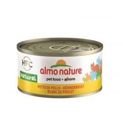 Almo Nature Hähnchenfleisch (Hähnchenbrust) Pro 24 Stück (Natural)