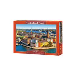 Castorland Puzzle Puzzle 500 Teile Die Altstadt von, Puzzleteile