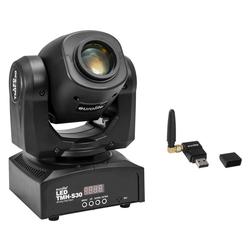 Eurolite TMH-S30 Moving-Head Spot Wireless DMX Set