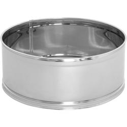 SCHNEIDER Puderzuckersieb, Edelstahlsieb mit feinem Gewebe, Durchmesser: 240 mm