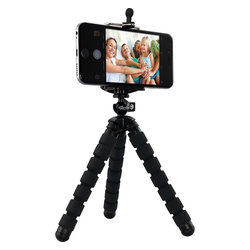 Rollei Selfi Mini Stativ schwarz Dreibeinstativ