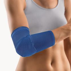 BORT KubiTal Ellenbogen-Polster-Bandage M blau 1 St