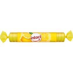 Intact Traubenzucker Zitrone Rolle Tabletten