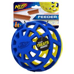 Nerf Dog Hundespielzeug Exo Ball blau/grün