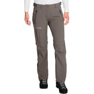 VAUDE Farley Stretch Zip-Off T-Zip Hose Damen grau EU 40 (Kurz) 2021 Trekking- & Wanderhosen