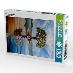 Die Jahreszeiten Lege-Größe 48 x 64 cm Foto-Puzzle Bild von Conny Krakowski Puzzle