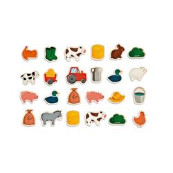 "Janod Puzzle Magnetset ""Bauernhof"" 24 Teile, Puzzleteile"