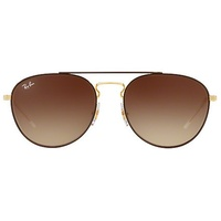 Ray Ban Aviator RB3589 brown-gold / brown gradient