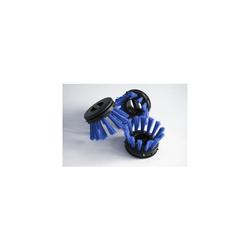 Miltex Rundbürsten für Schmutzfangmatten blau 10 Stück
