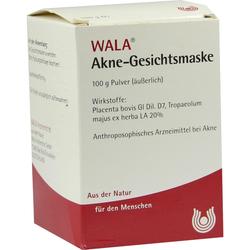 Akne Gesichtsmaske