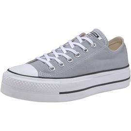 Converse Chuck Taylor All Star Platform Seasonal Low Top wolf grey/white/black 37,5