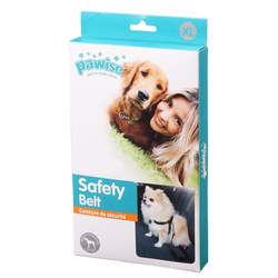 Hunde Sicherheitsgurt Hundegurt Autogurt - Harness with Safety Belt - Größe: XL