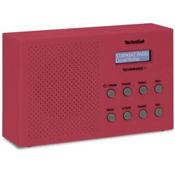 TechniSat Techniradio 3 Kofferradio DAB+, UKW Rot