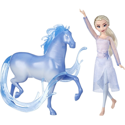 Hasbro Anziehpuppe Die Eiskönigin II, Elsa und Nokk