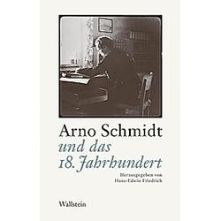 Arno Schmidt und das 18. Jahrhundert - Buch