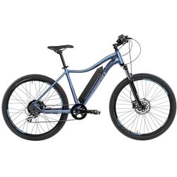 SIGN E-Bike, 8 Gang Shimano Shimano Acera Schaltwerk, Kettenschaltung, Heckmotor 250 W blau 48 cm