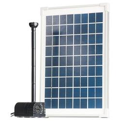 Heissner Teichpumpe SUN-POWER Solar Teichpumpen-Set 610 l/h