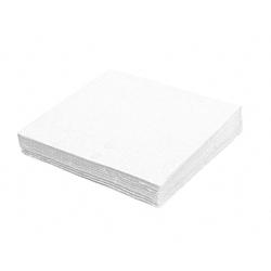 Servietten Prägeservietten 1-lagig, 30 x 30 cm, weiß, gute Qualität, 100 Stk.