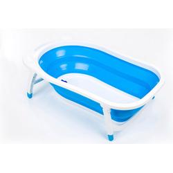 Fillikid Babywanne Faltbadewanne, blau, mit rutschfesten Füßen