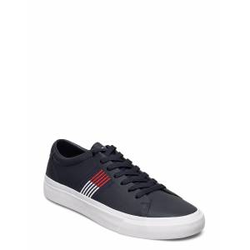 Tommy Hilfiger Corporate Leather Sneaker Niedrige Sneaker Blau TOMMY HILFIGER Blau 43,44,41,42