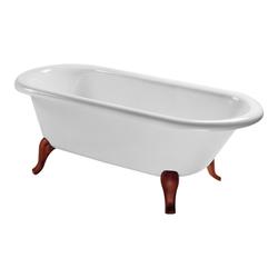 Villeroy & Boch Hommage Oval-Badewanne Quaryl® 177,1 x 77,1 cm