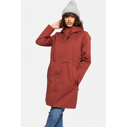 Selfhood Parka Jacket Rust Damen Winterjacke Rot